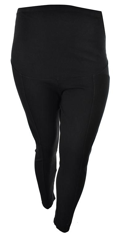 gZ6338 H&M MAMA czarne legginsy ciążowe 48