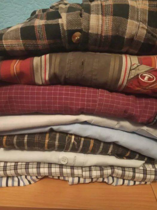 Paczka koszul męskich L/XL zestaw