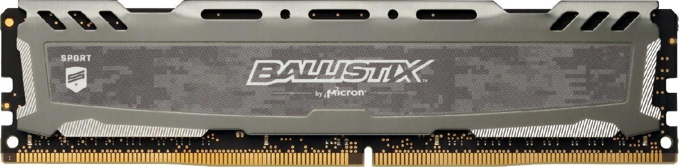 BALLISTIX DDR4 Sport LT 4GB/2666 CL16 SR x8 Szara