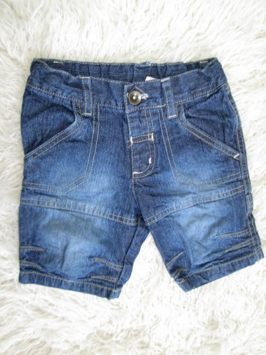 TU___chłopięce spodenki szorty jeansowe__74-80