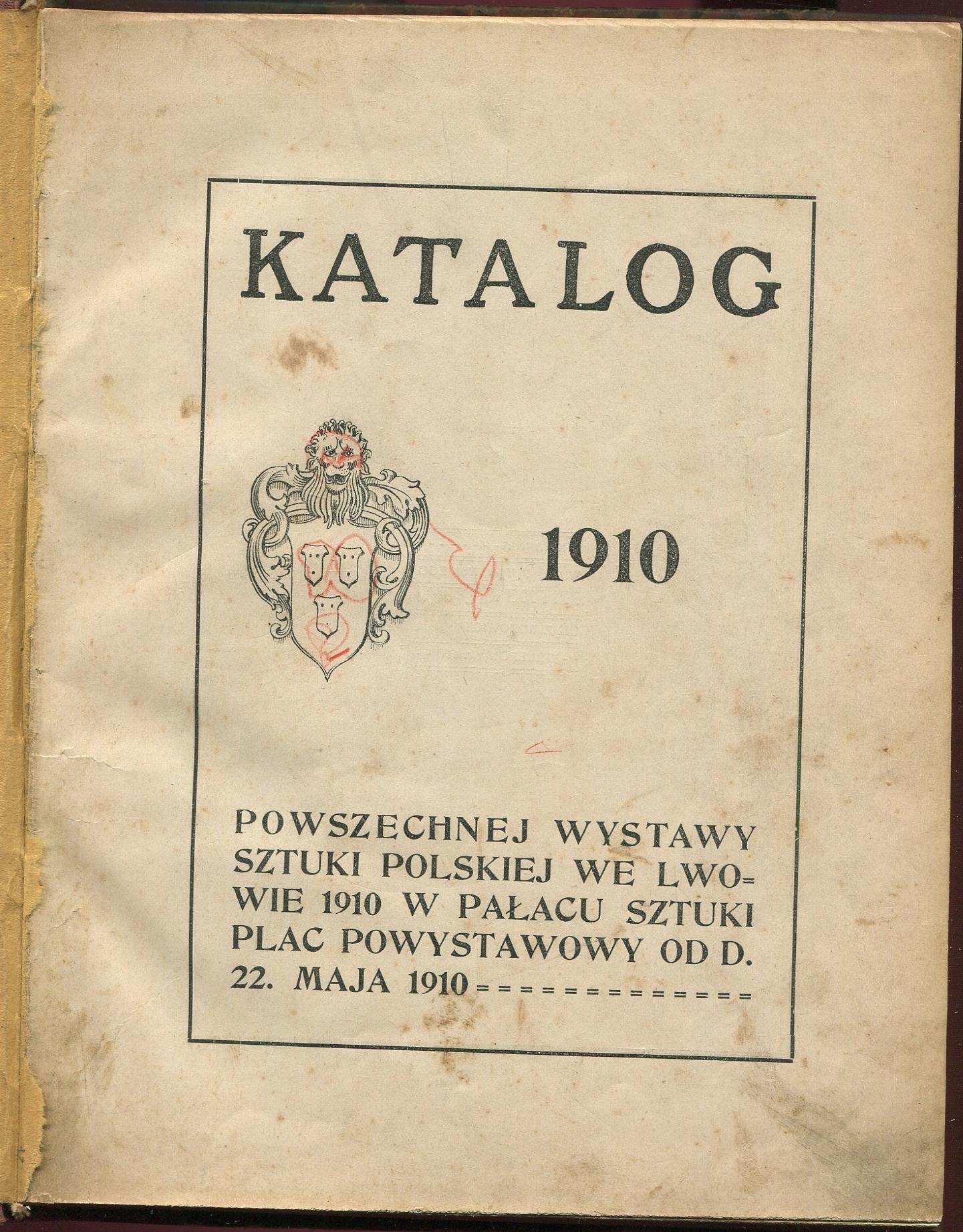Powszechna Wystawa Sztuki Lwów 1910 Pautsch Wittig