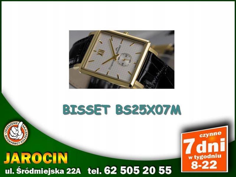 ZEGAREK MĘSKI BISSET BS25X07M