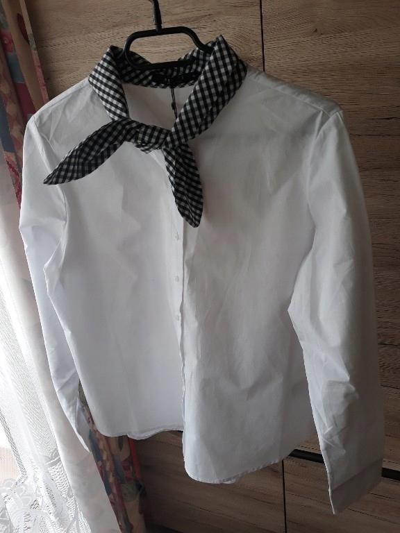 koszula Mohito z wiązaniem 36 kratka