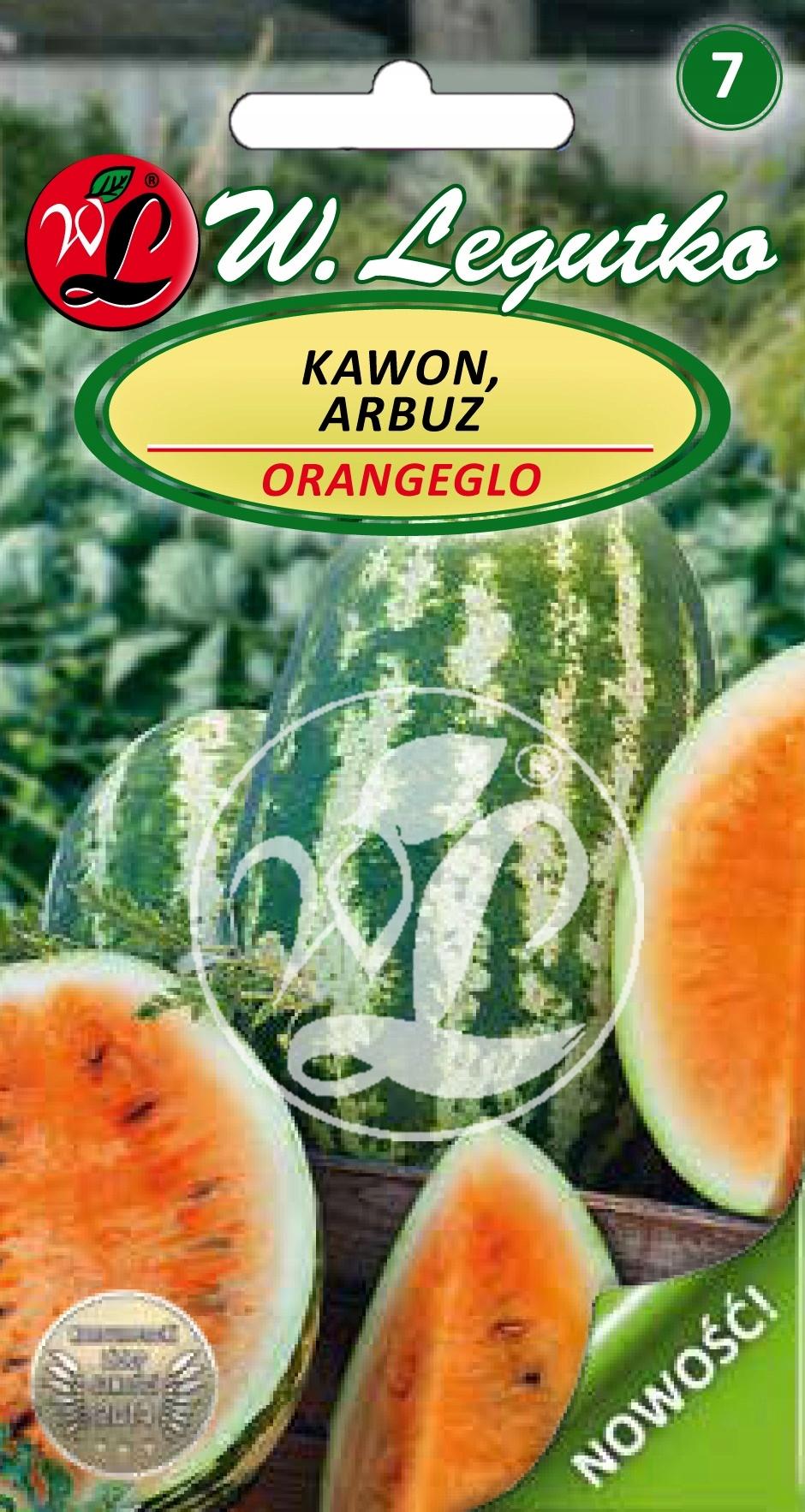 OwL Arbuz Kawon pomarańczowy Orangeglo nasiona 1g