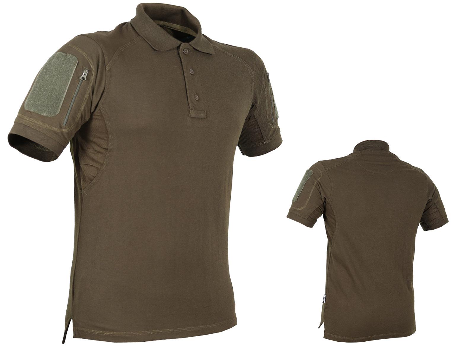 ba7eb699ce6b03 TEXAR ELITE PRO Koszulka Taktyczna Polo OLIVE M - 7294784913 ...