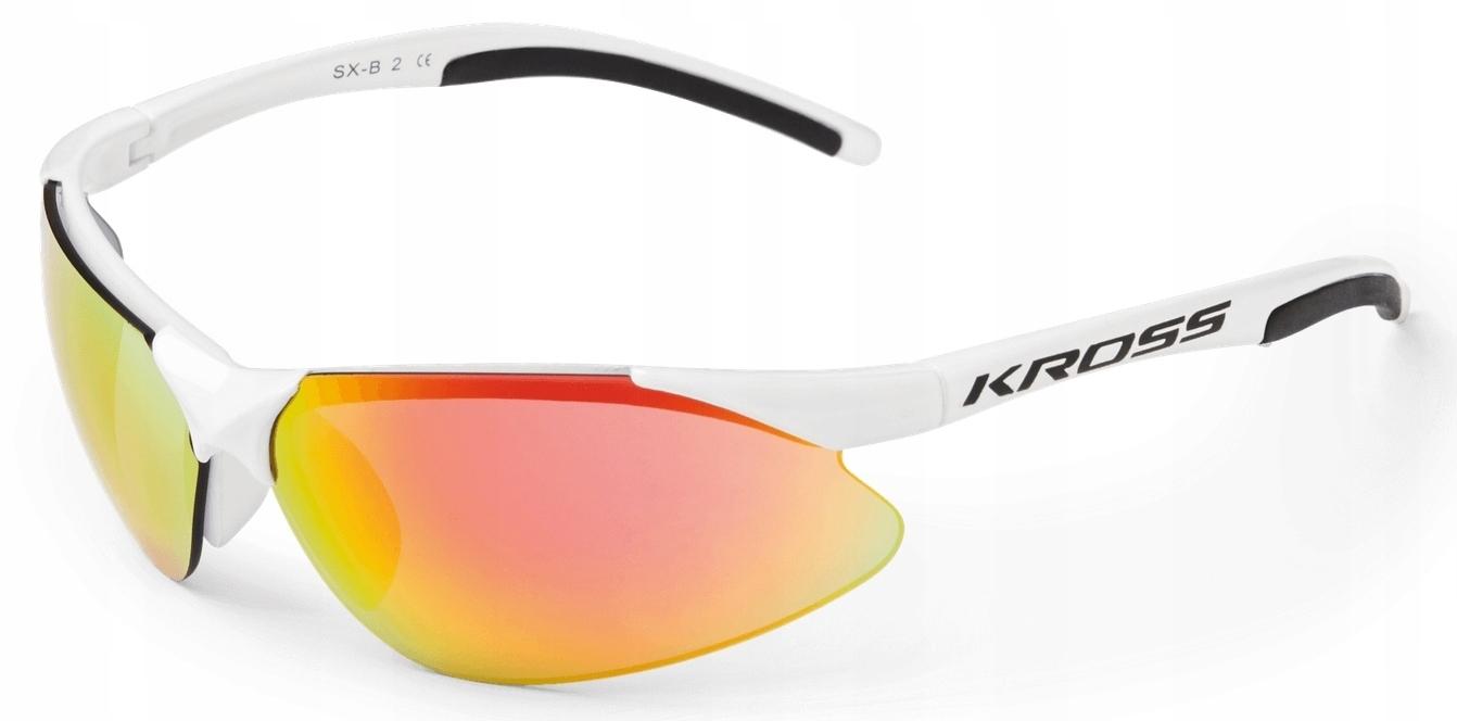 Okulary KROSS SX-B II white-black
