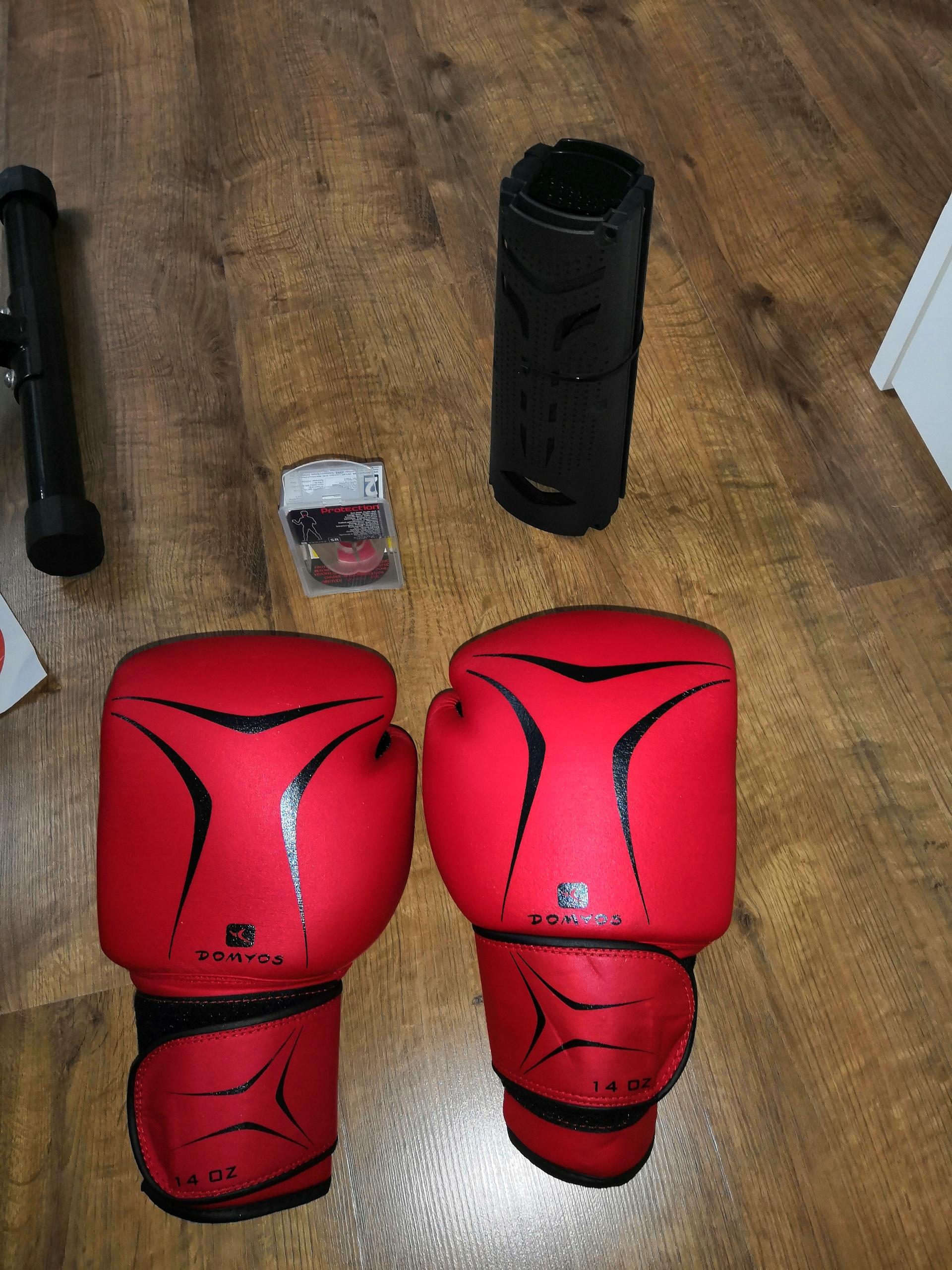 Zestaw bokserski - rękawice 14 suszarka ochraniacz