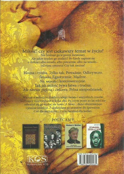 Robert Stiller Wiersze O Miłości Nowa 7348142496