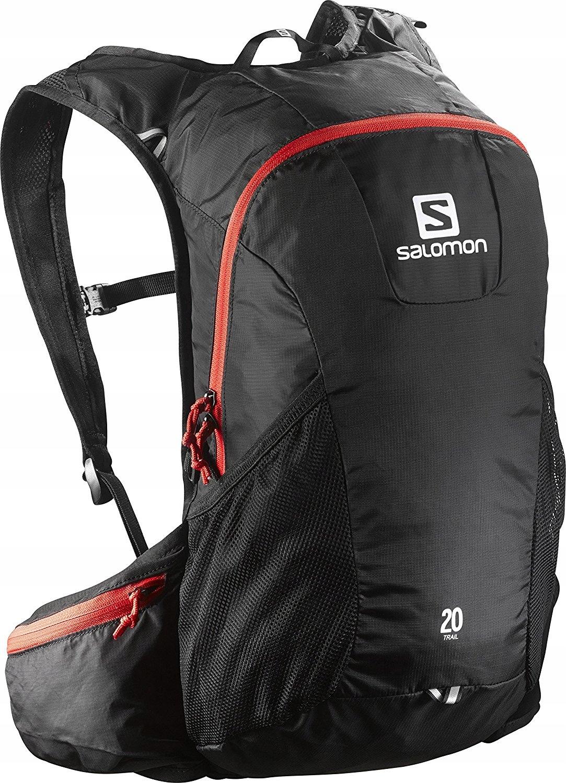Salomon plecak Trail 20 czarny - pojemnośc 20 l