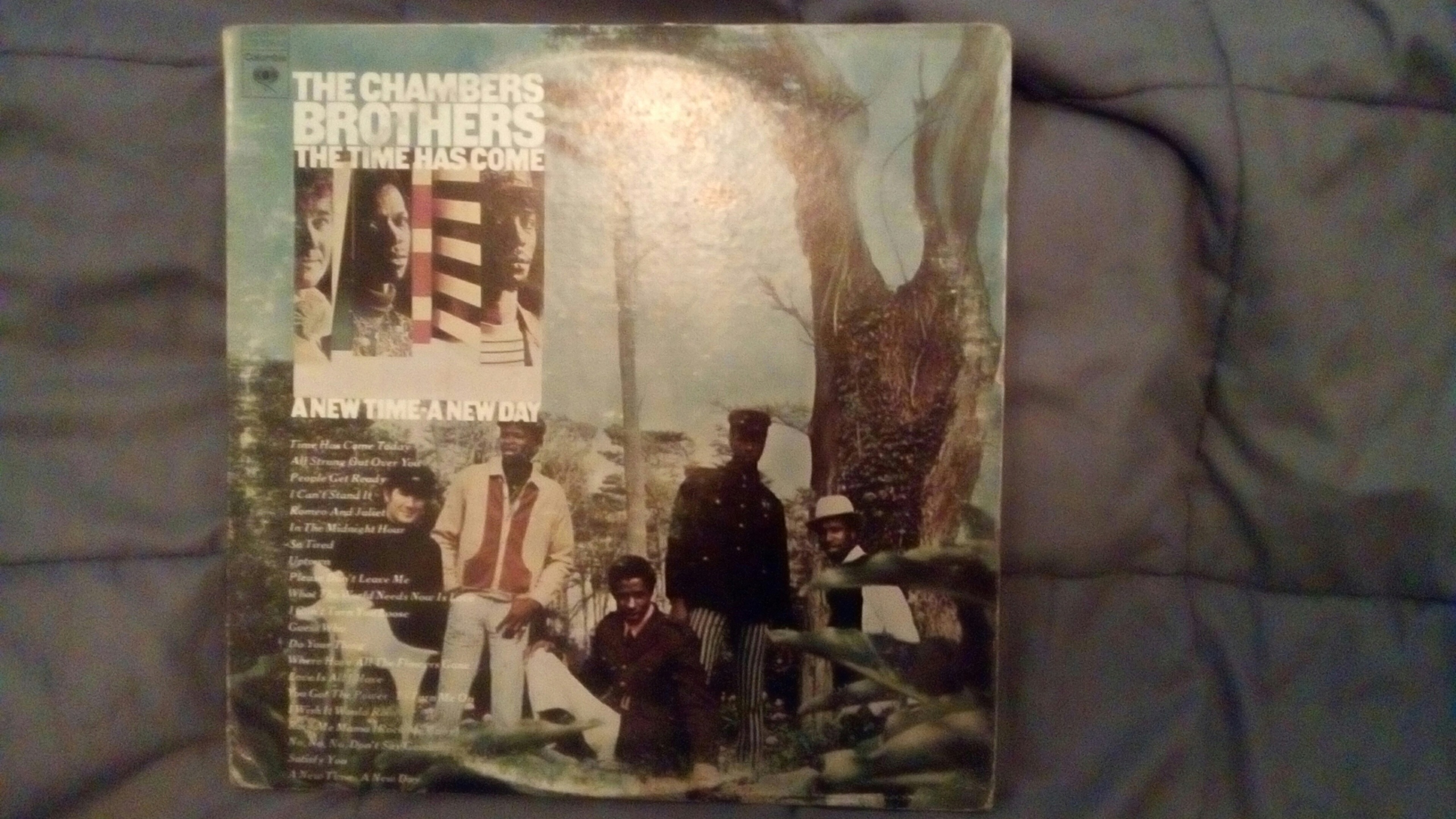 The chambers brothers 2lp