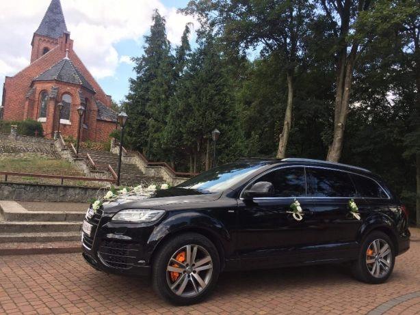 Auto do ślubu Audi Q7 w12 Wesele, przewóz osób