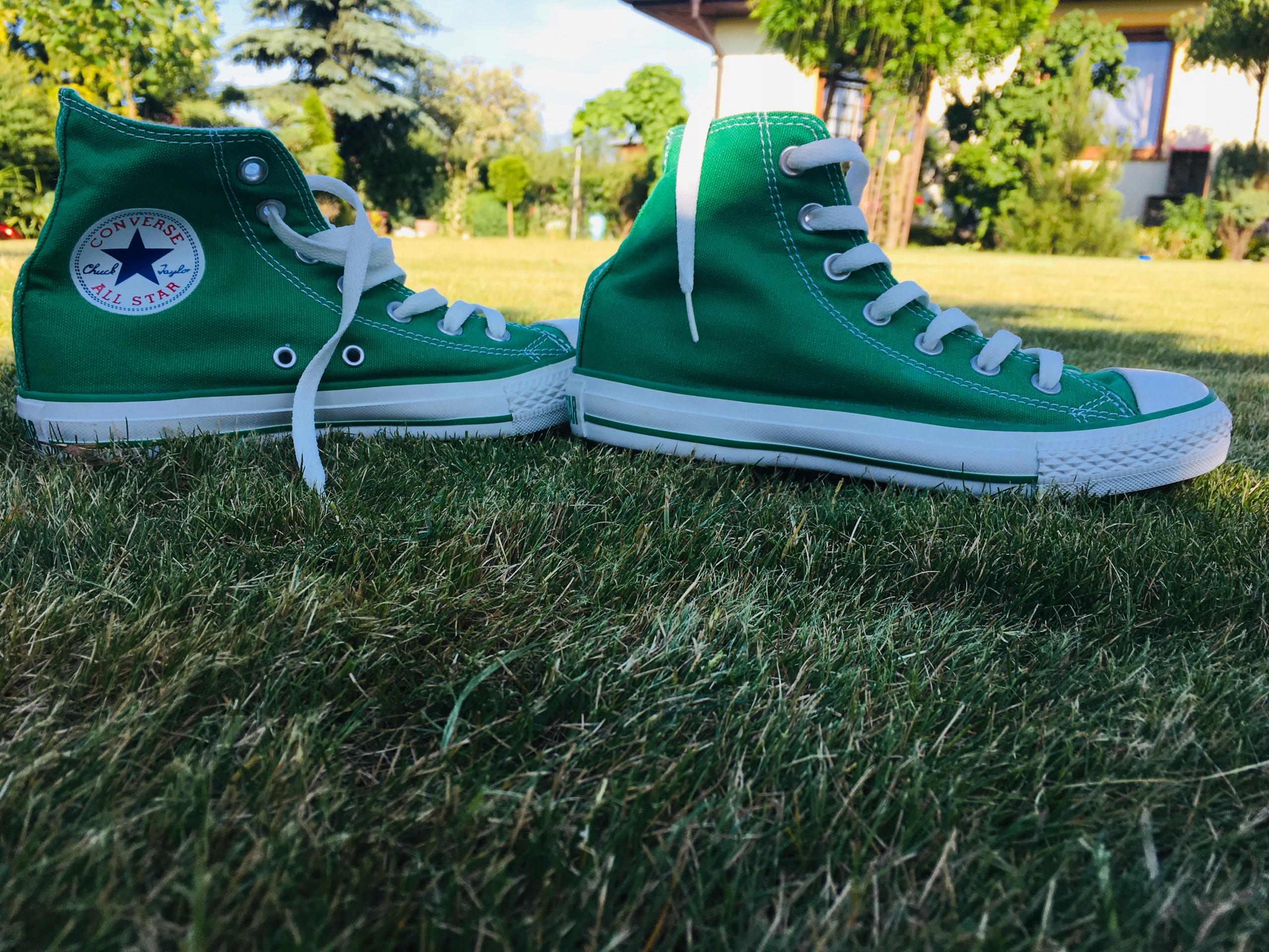 Trampki Converse zielone rozm. 37