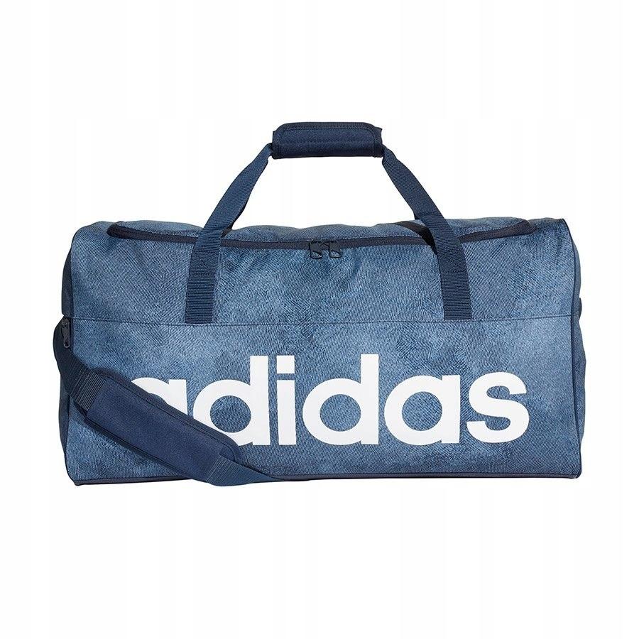 996b755e011c2 Torba adidas Linear Per TB M DJ1422 niebieski 26l - 7483632194 ...
