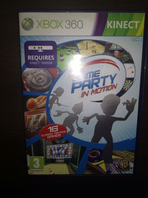 GAME PARTY IN Motion XBOX 360 KINECT