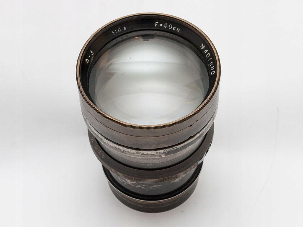 Obiektyw radziecki 400mm F4.5
