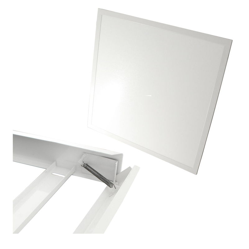 Biały Panel Led Rama Do łazienki Wc Toalety 7340925829