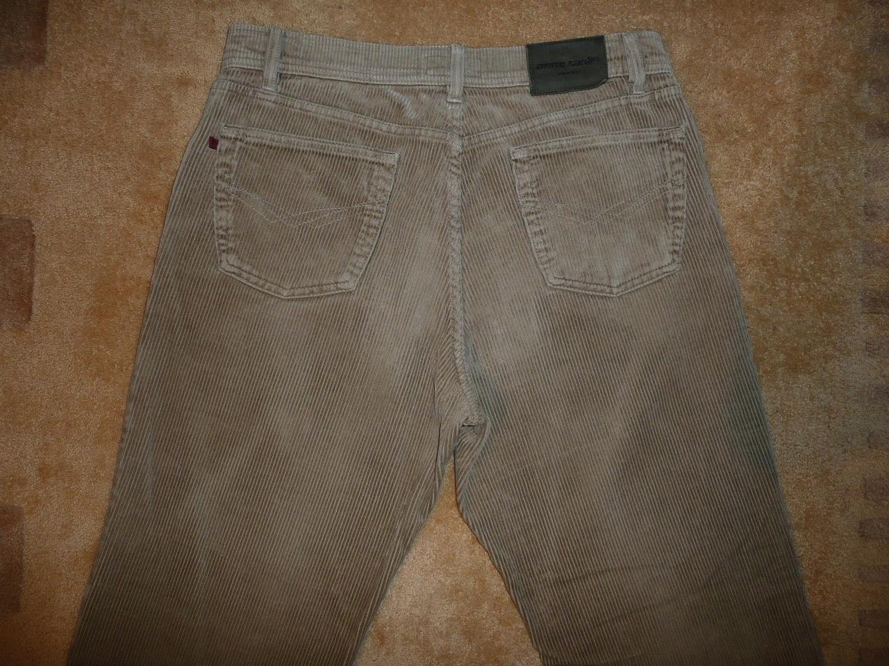 Spodnie sztruksowe PIERRE CARDIN W36/L32=46/109cm