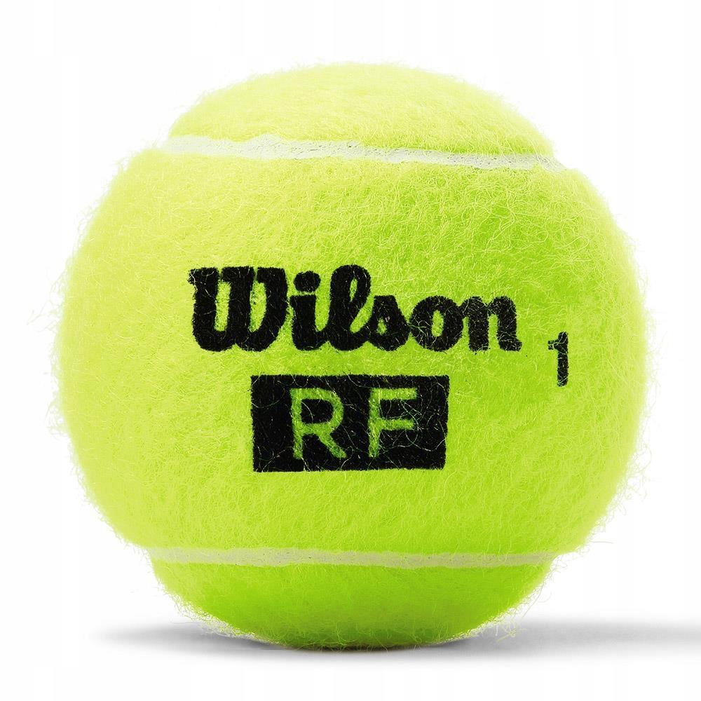 WILSON ROGER FEDERER piłki tenisowe 4 szt 10-M