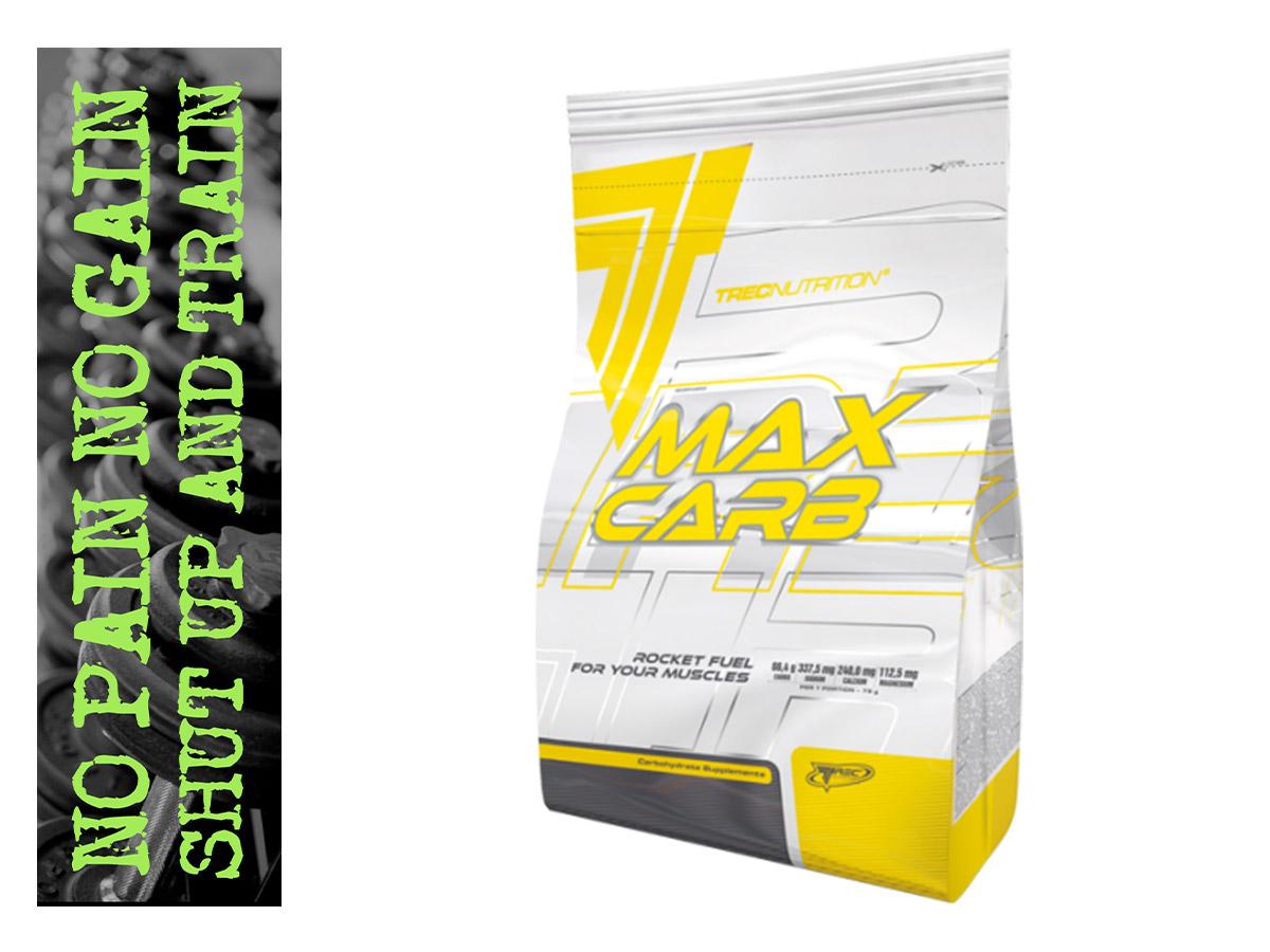 TREC MAX CARB 3kg węglowodany IZOTONIK na 10litrów