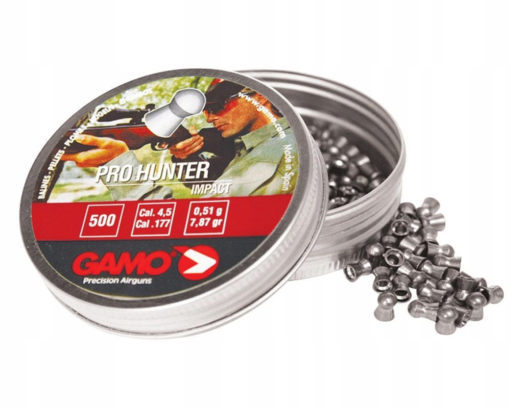 Śrut Gamo Pro Hunter 4,5mm 500szt