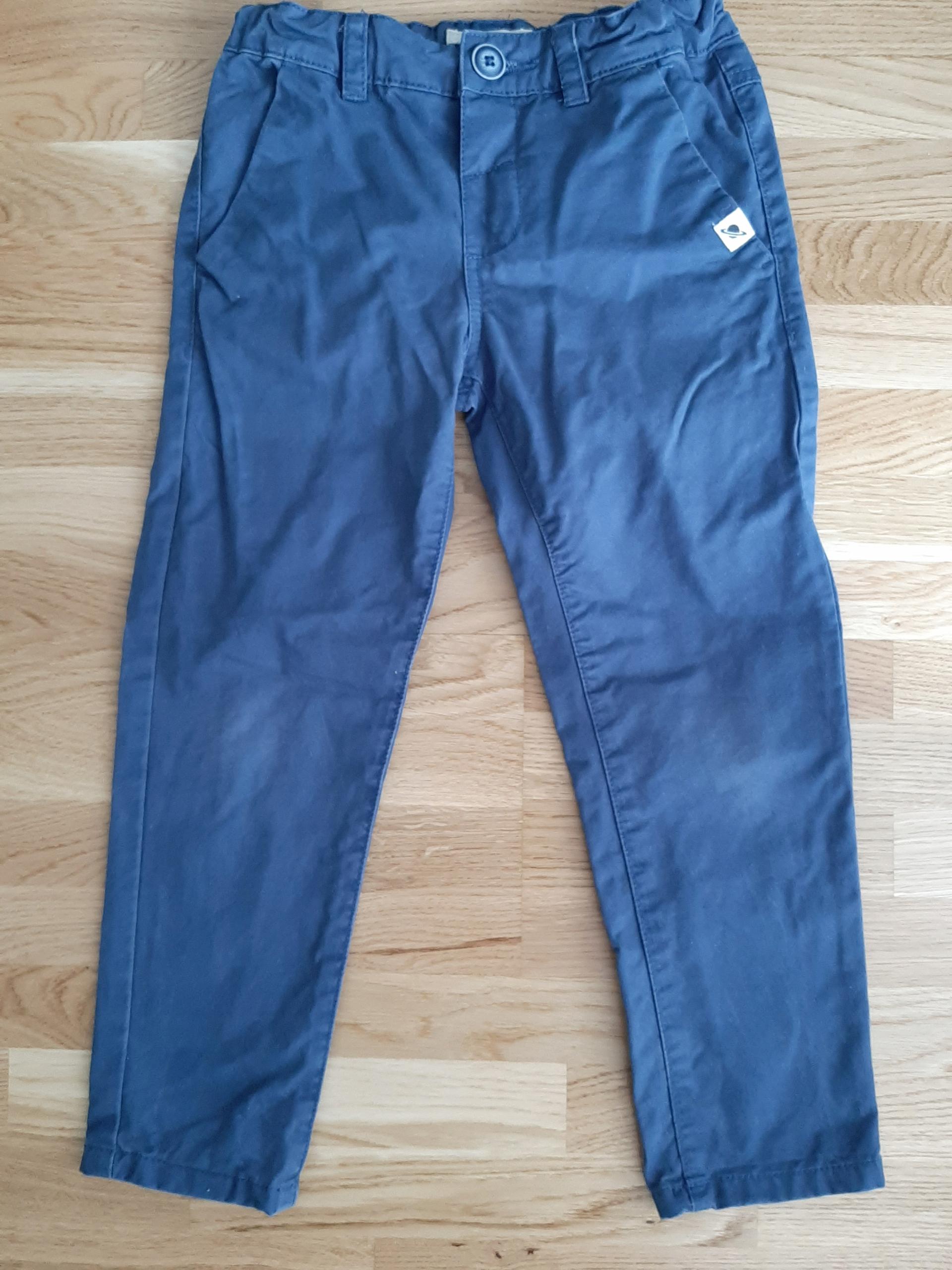 Spodnie Reserved chinos granatowe 110