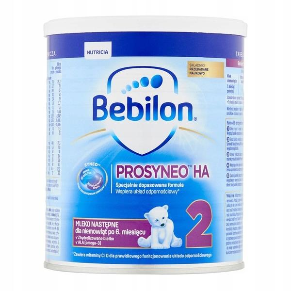 Bebilon HA 2 Prosyneo 12 szt x 400g