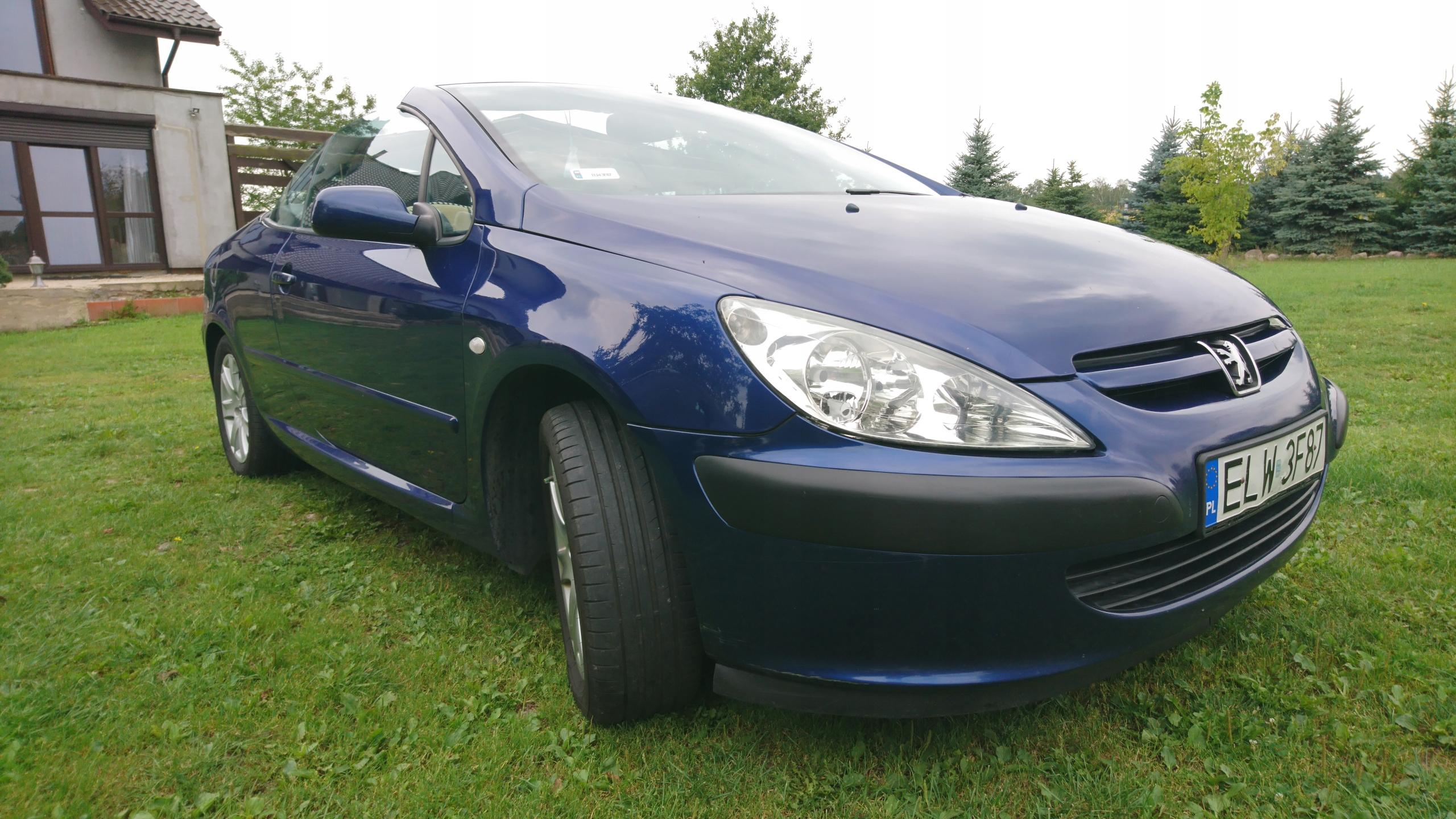 Peugeot 307cc 2.0 16v 180tyś km 2004r