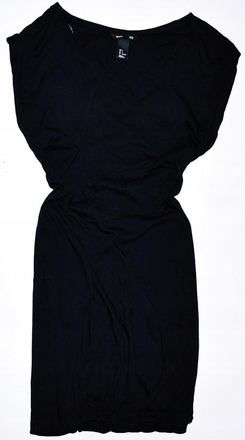 H&M * Czarna sukienka * S 36