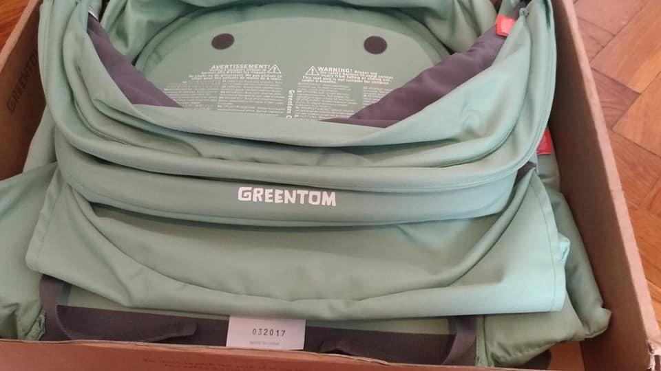 Tapicerka do wózka Greentom Classic kolor miętowy