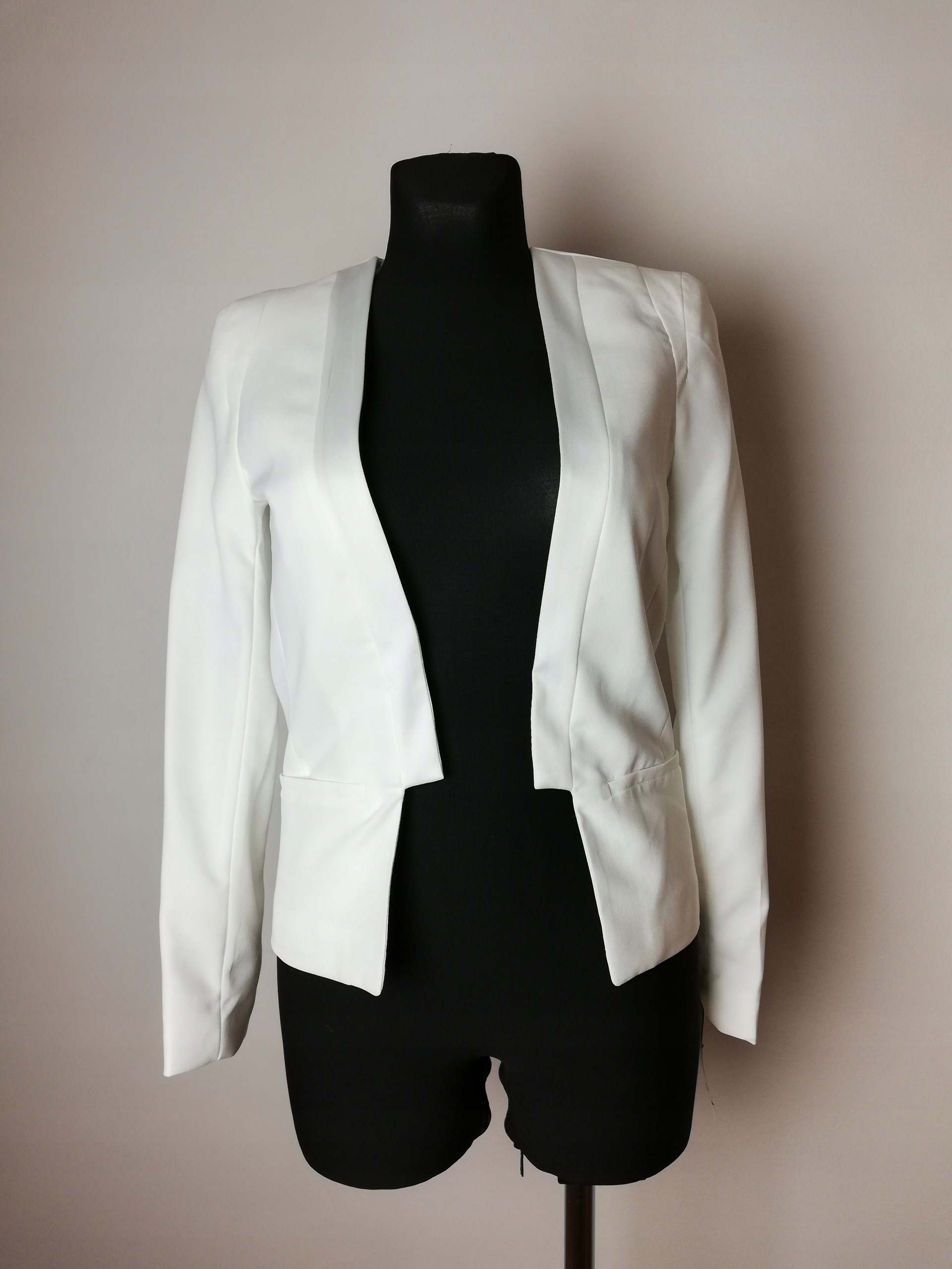 Biały żakiet marynrka MANGO nowa 34 XS