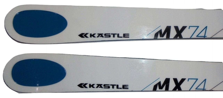Narty KASTLE MX 74 dł. 156 cm