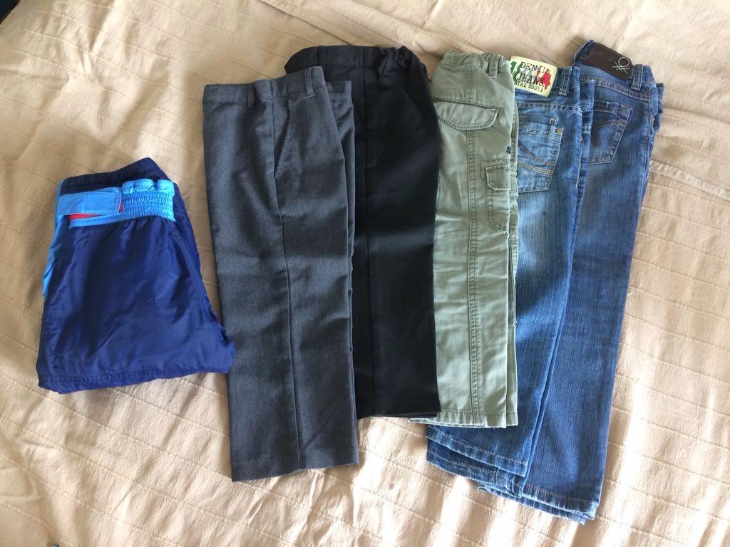 Zestaw spodni dla przedszkolaka 3-5 lat Benetton