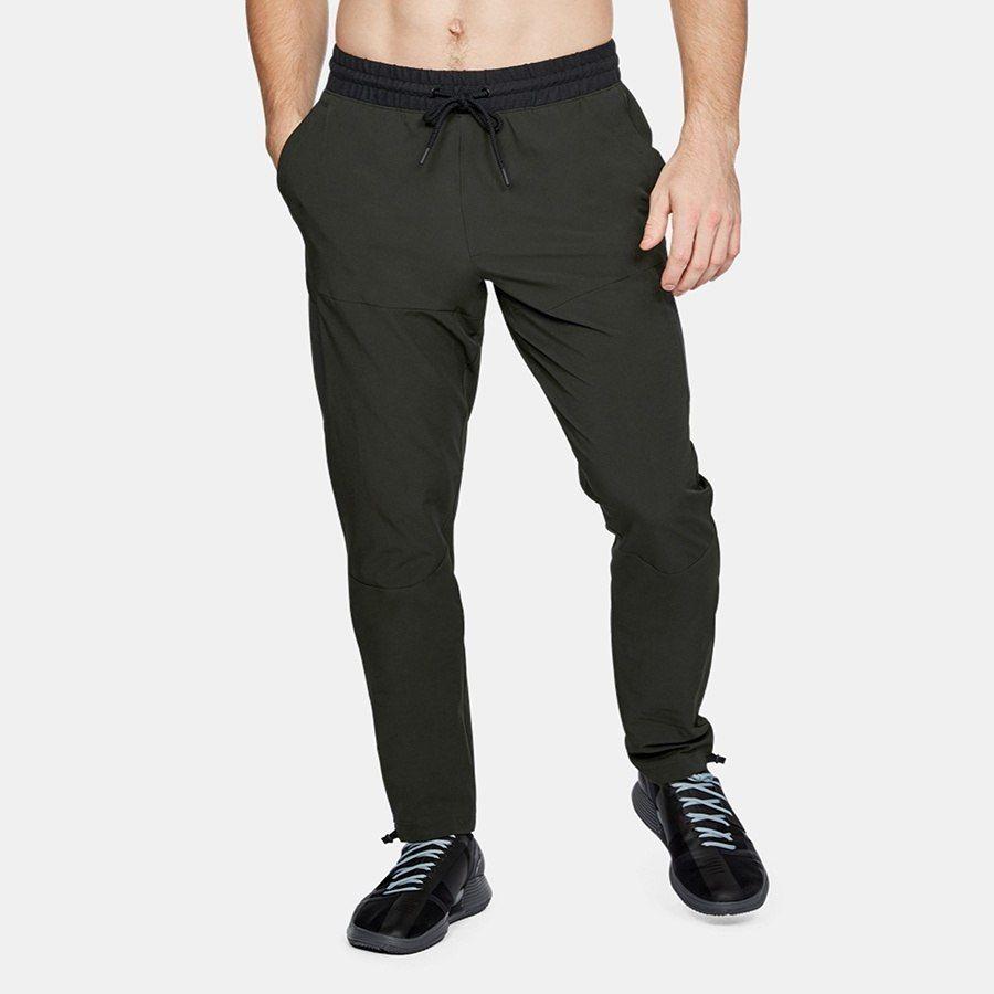 Spodnie Męskie dresowe UA kieszenie zielon M