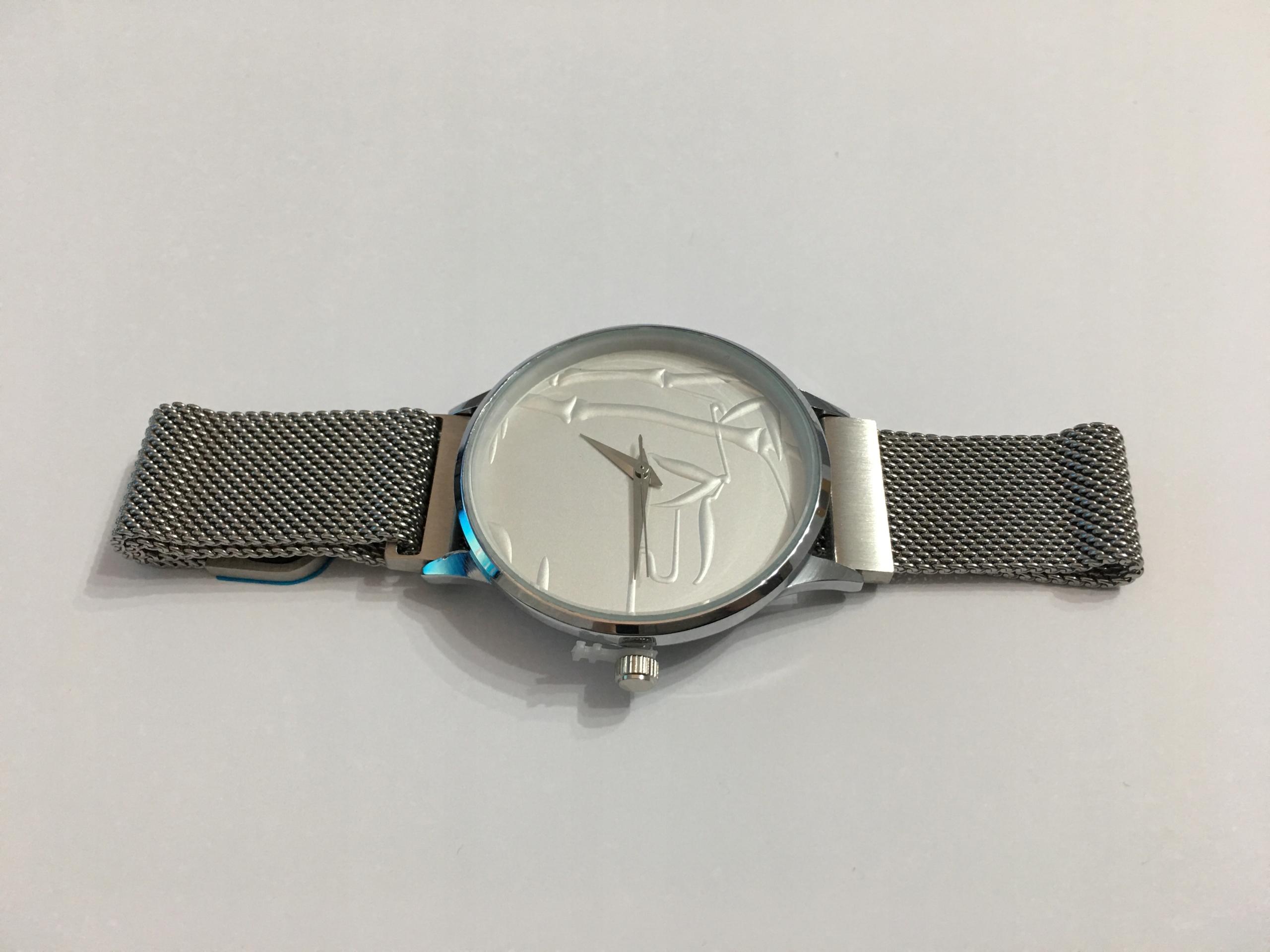 fba920e4c63cff Damski zegarek - Elegancki na srebrnej bransolecie - 7894883702 ...