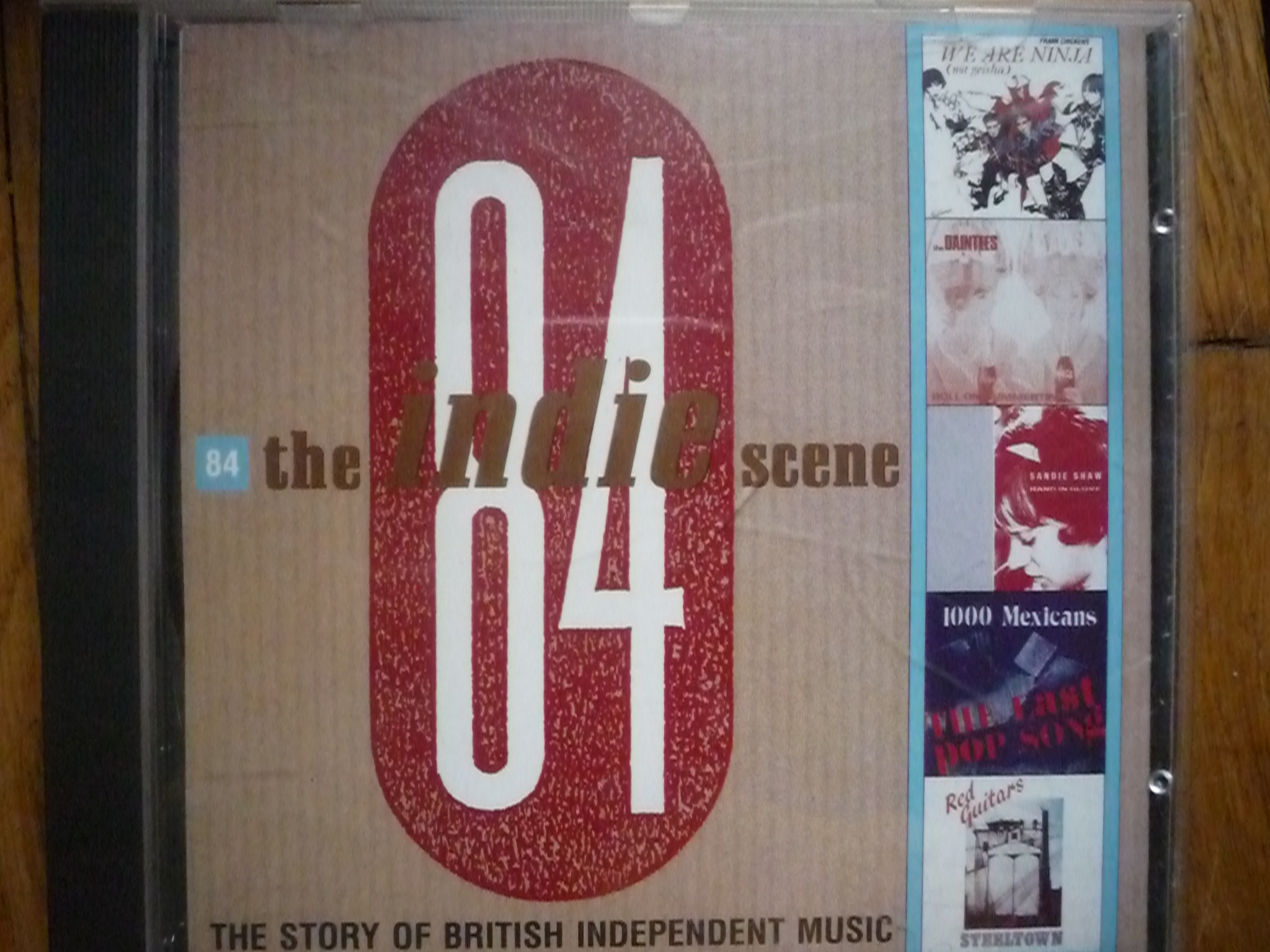 V.A. THE INDIE SCENE 84 R (INDEPENDENT MUSIC) CD