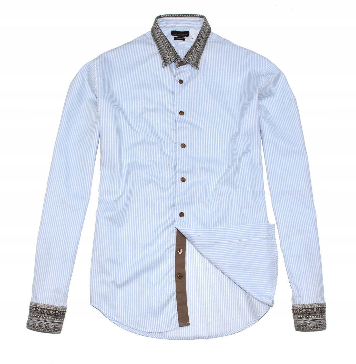 MM 328 H&M_TRENDY WORKWEAR SLIM FIT SHIRT_M/L