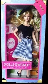 Piękna kolekcjonerska lalka Barbie DOTW French
