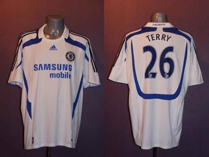 Adidas Chelsea FC TERRY 2007/2008 size L,CLIMACOOL