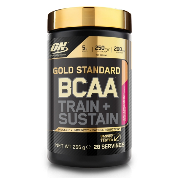 ON Gold Standard BCAA 266g brzoskwinia marakuja