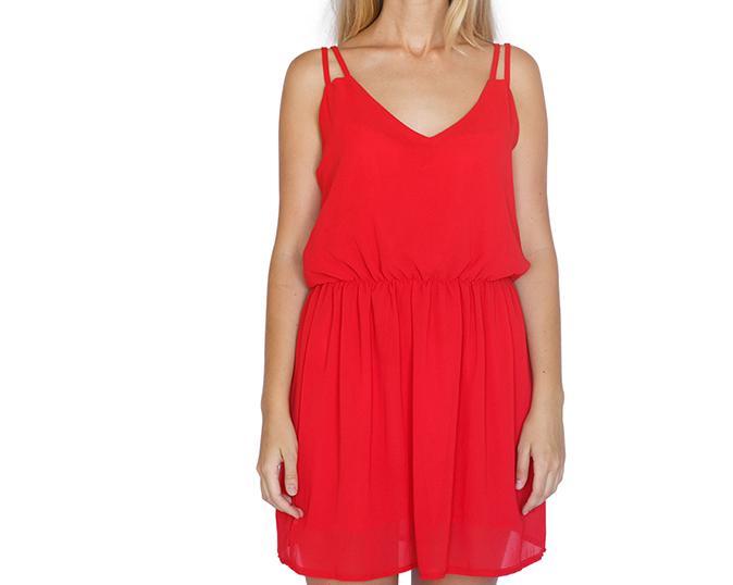 Zwiewna sukienka damska letnia - L