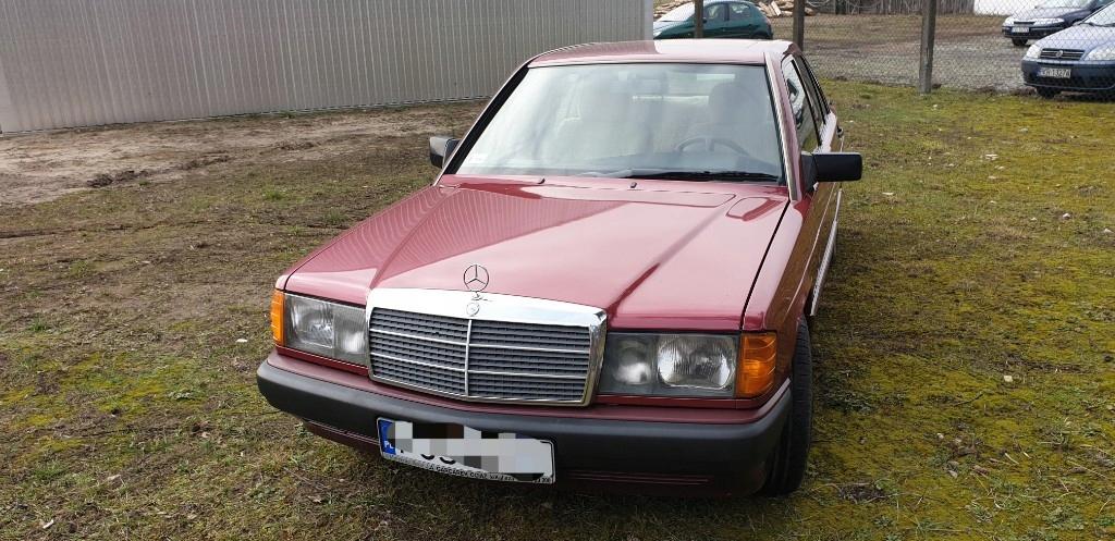 Mercedes Benz w201 IGŁA (2 właściciel)