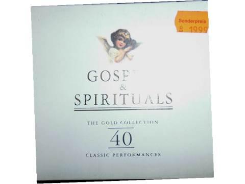 Gospels Spirituals - Various r2cd 40-26 CD album