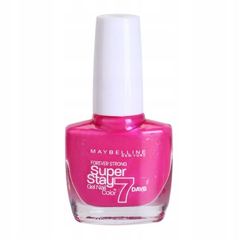 Maybelline Forever Strong lakier 155 Bubble Gum 10