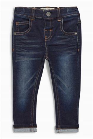 NEXT jeansy vintage przetarcia skinny 68 j.NOWE
