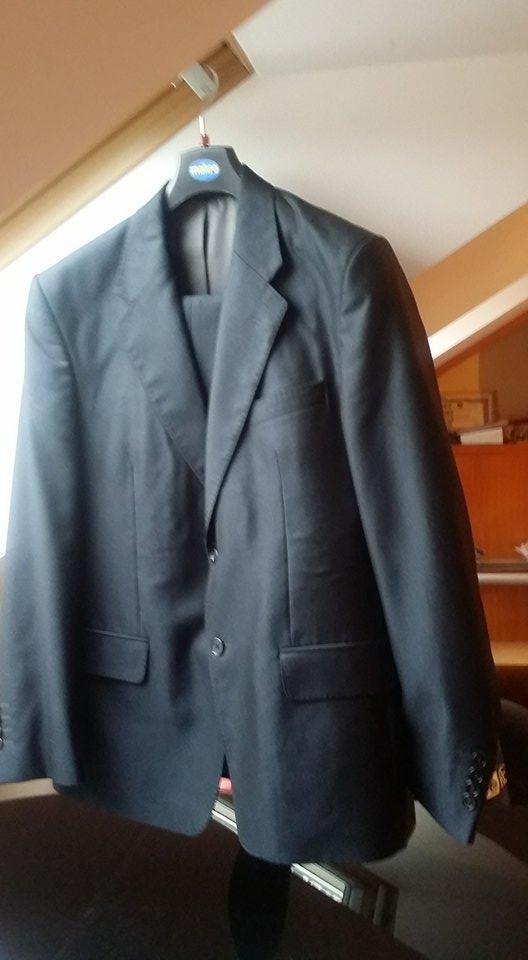 1859108e544f3 Grafitowy garnitur 176/104 marynarka+spodnie - 7193816422 ...