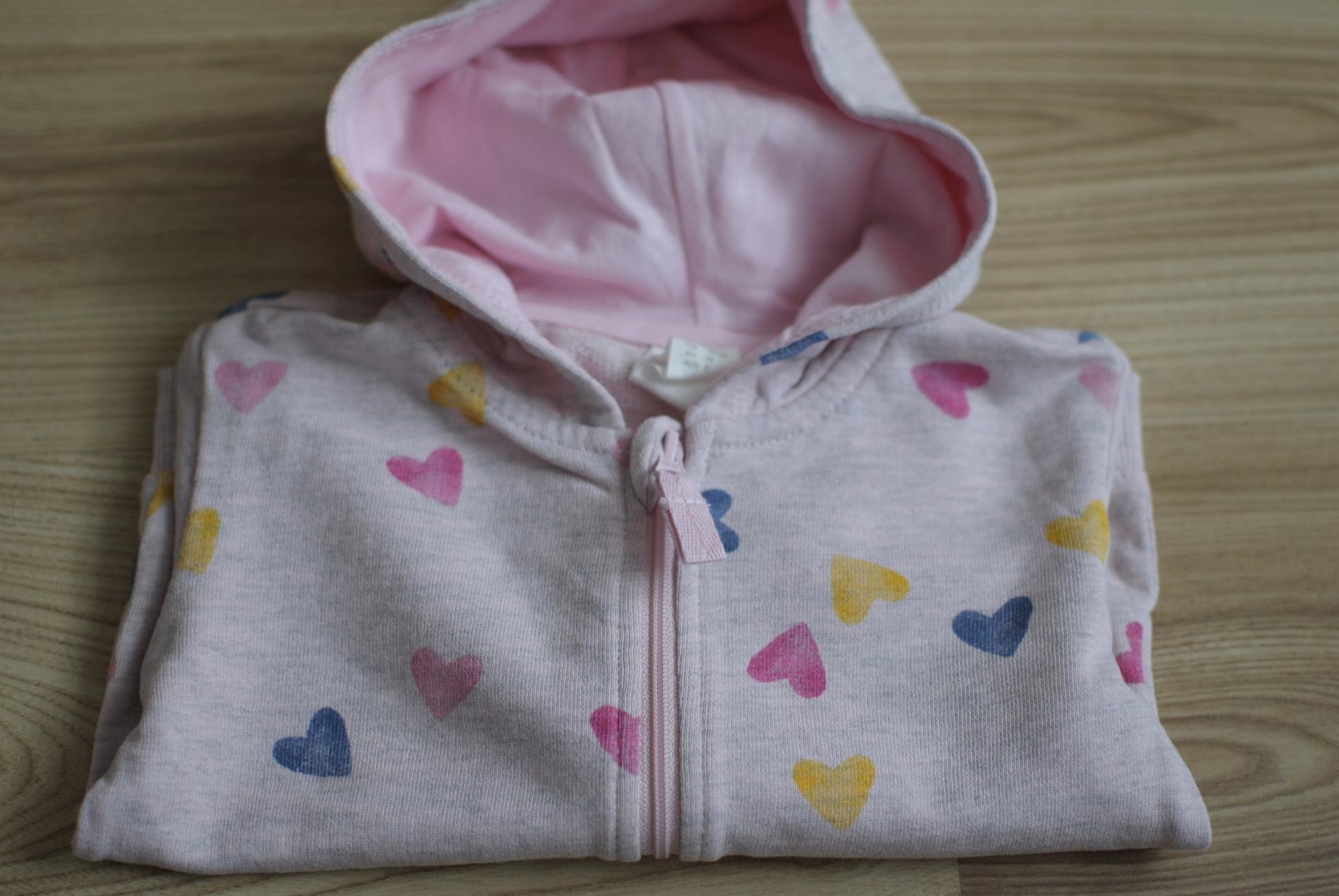 Bluza dla dziewczynki marki H&M rozmiar 74 cm