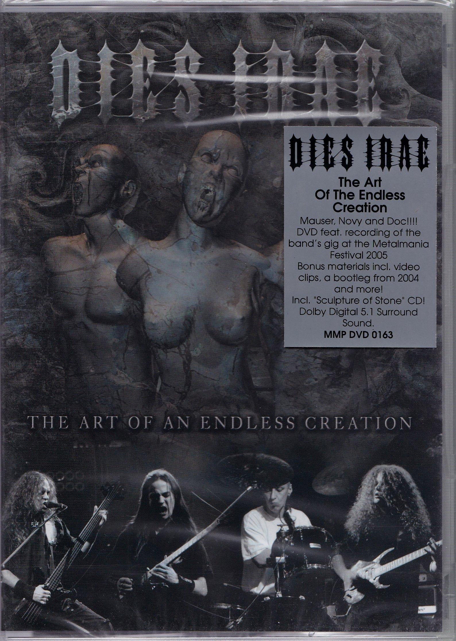 DVD / CD- DIES IRAE- ART OF AN ENDLESS CREATION