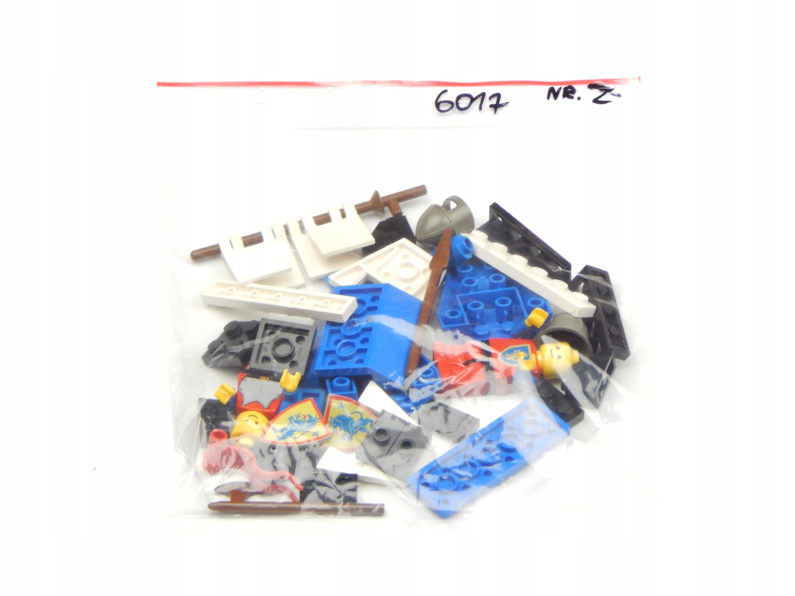 LEGO SET 6017 CASTLE UNIKAT STAN