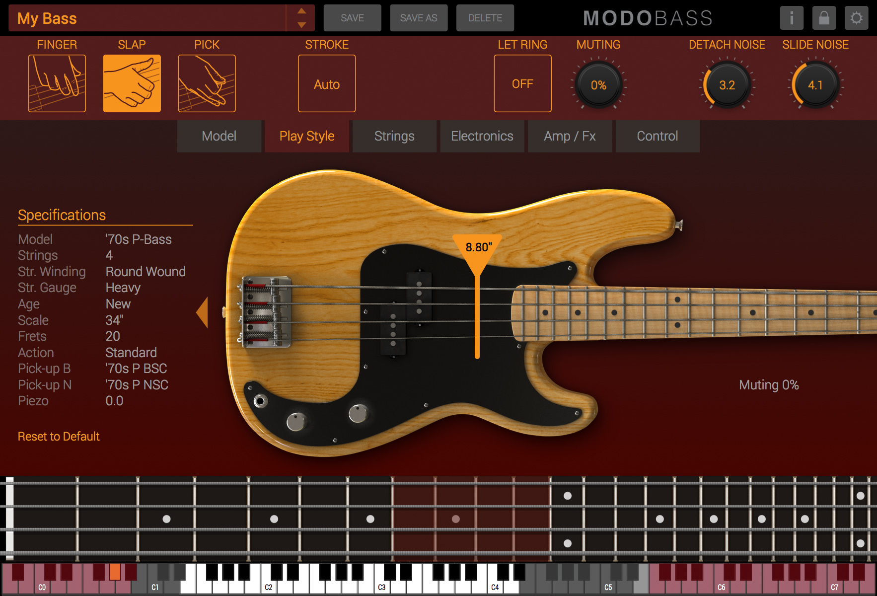 IK MULTIMEDIA MODO BASS INSTRUMENT VST