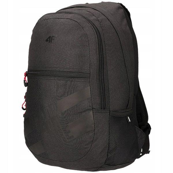 4F Plecak miejski PCU004 - czarny melanż 30 L